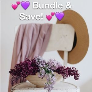 💕💜 Bundle and save 2 or more 15% off! 💕💜